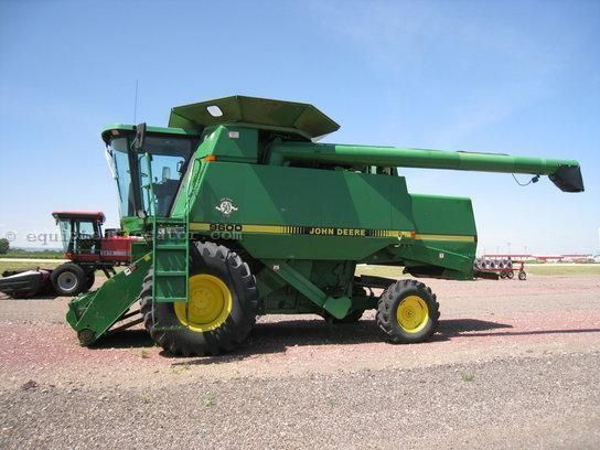 JOHN DEERE 9600 cosechadora