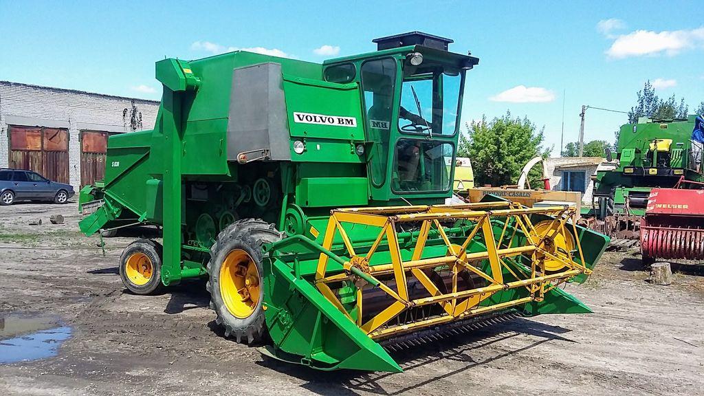 VOLVO S 830 cosechadora