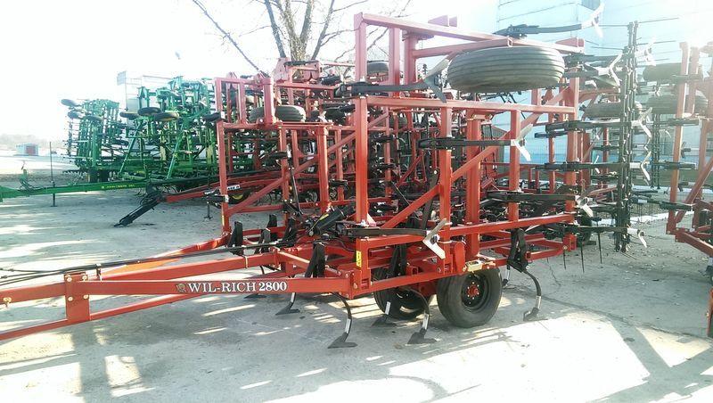 WIL-RICH 2800 + Katki cultivador