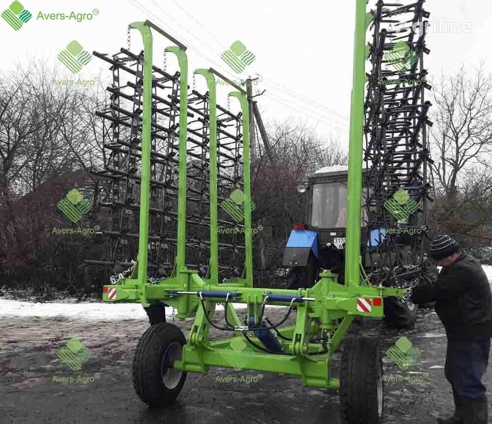 Borona shleyfovaya Green Way 5,3 m transformer grada de dientes nueva