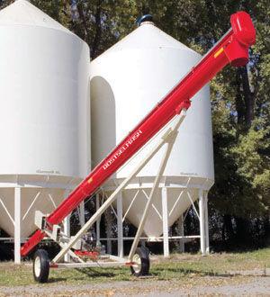 ROSTSELMASH Transporter zerna shnekovyy TSh lanzador de grano nuevo