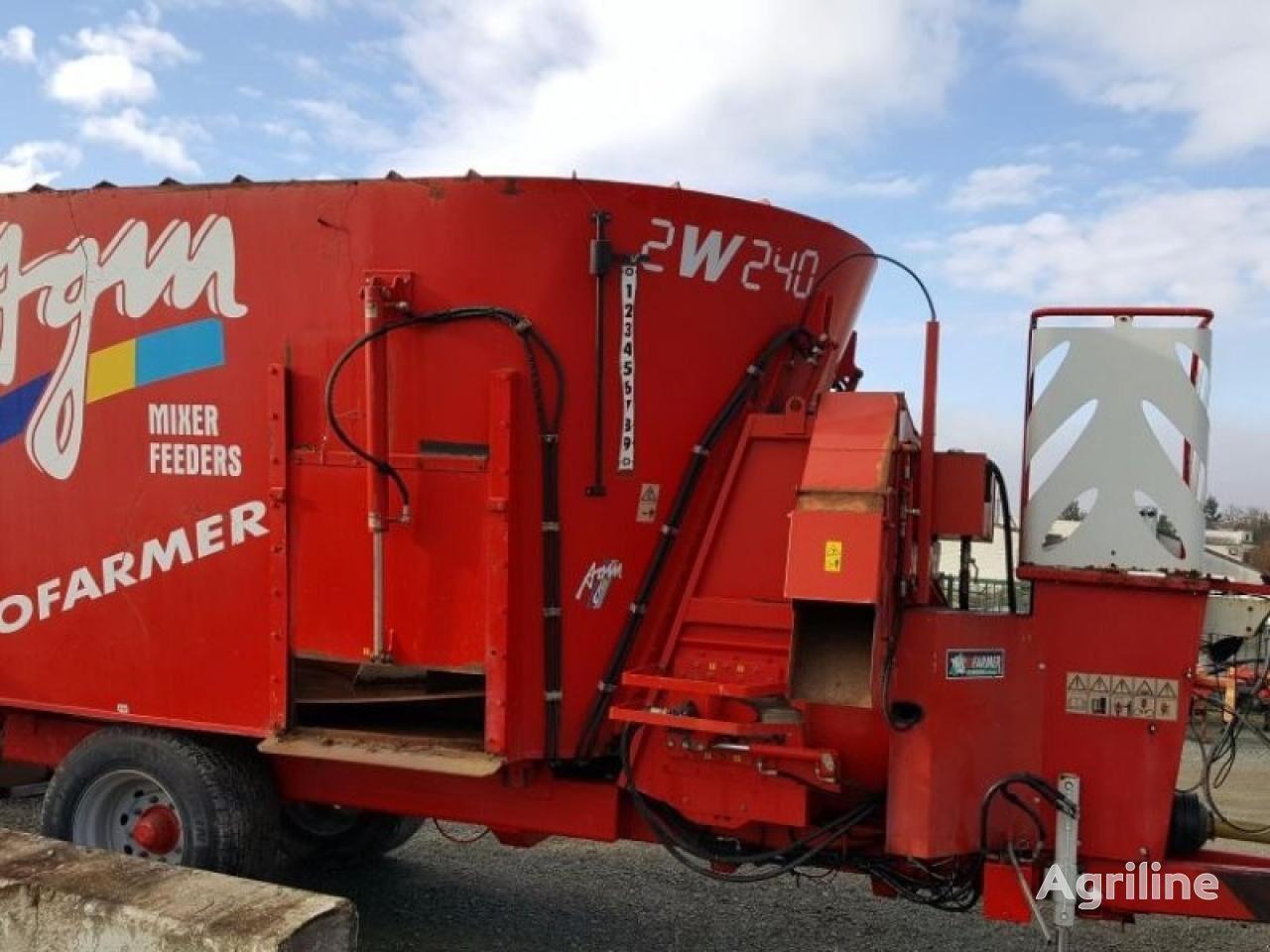 AGM 2 w 240 maquinaria de forraje