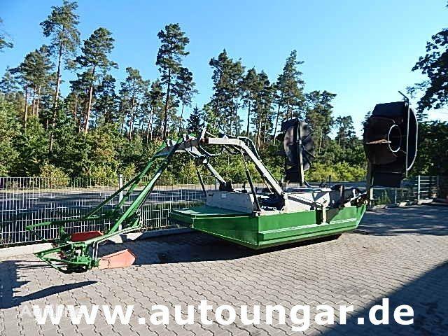JOHN DEERE Mähboot Aquatic Berkey Gödde Mulag Weed Harvester otra maquinaria agrícola