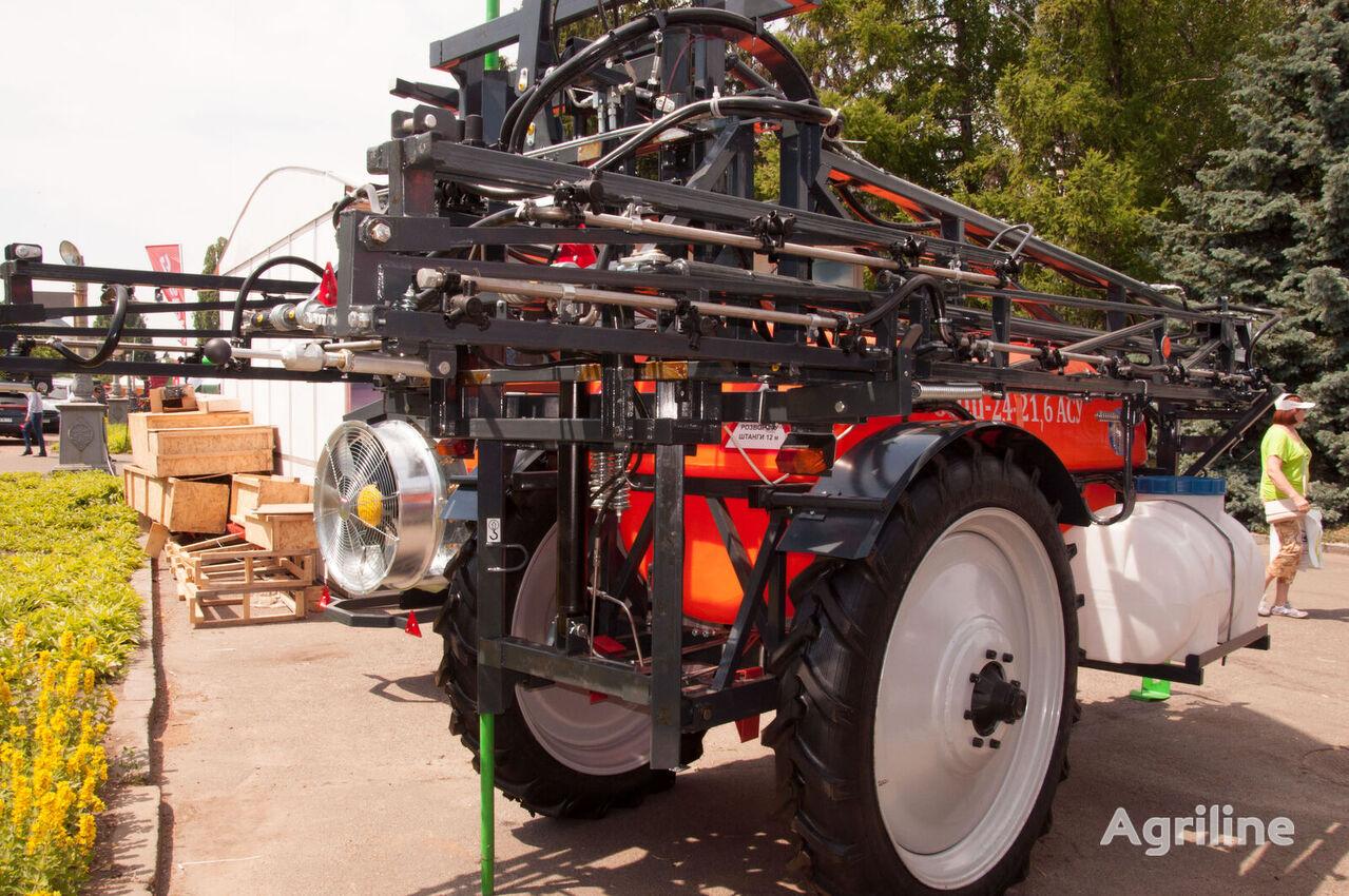 LVIVAGROMASHPROEKT OPSh-24-18 bazova model bez ASU pulverizador arrastrado nuevo