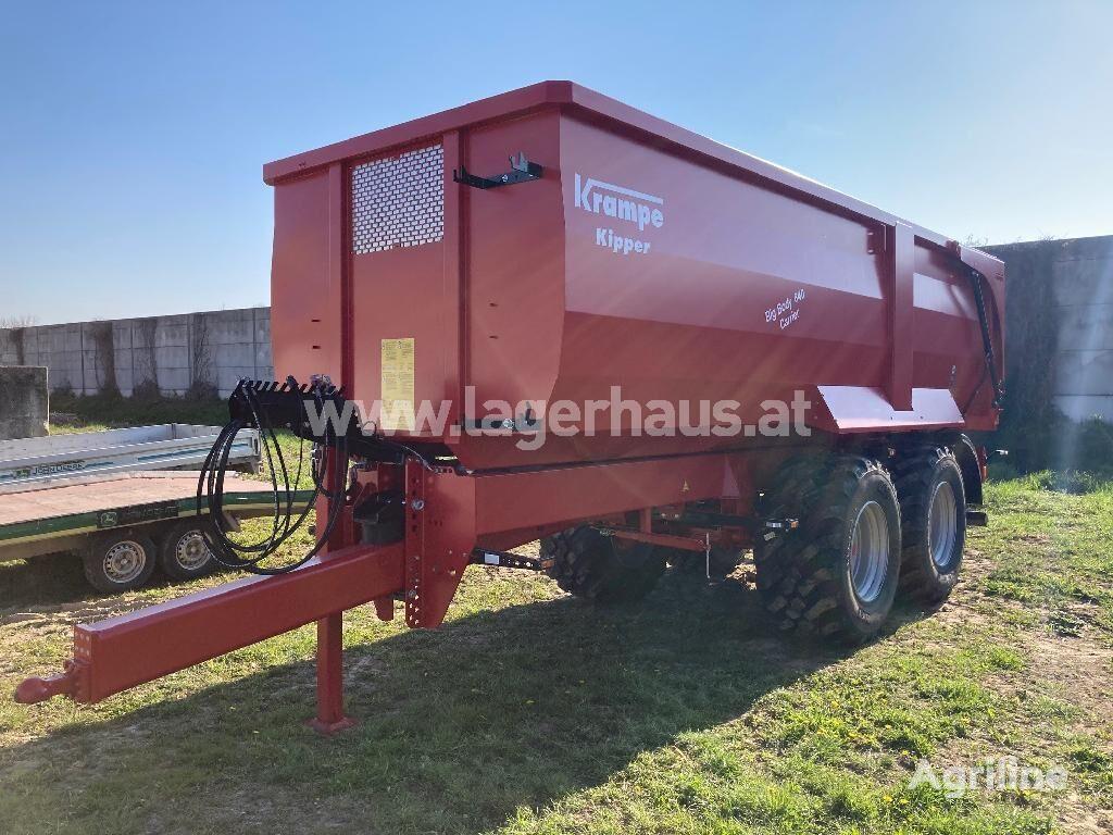 Krampe BIG BODY 640 CARRIER remolque agrícola
