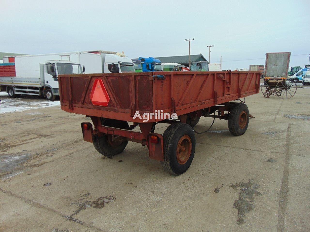 Iná Vlečka za traktor - trojstranný vyklápač remolque agrícola