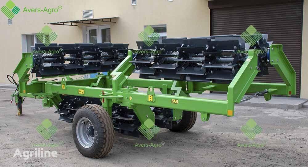 Avers-Agro Katok izmelchitel Shredder L90.550W karkasnyy (barabany diametr rodillo agrícola nuevo