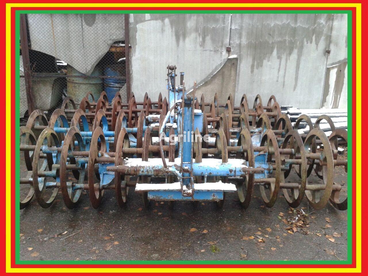 LEMKEN VarioPack 110 WDP 70 3 metra rodillo agrícola