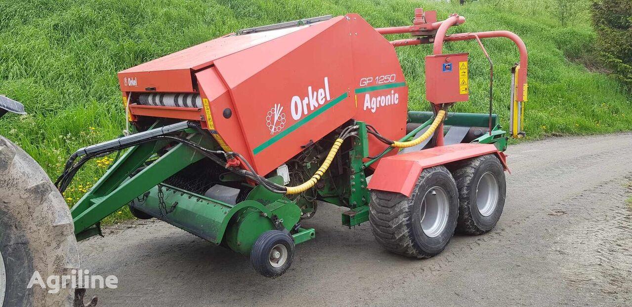 Orkel Agronic GP 1250 *16000B*2003* rotoempacadora