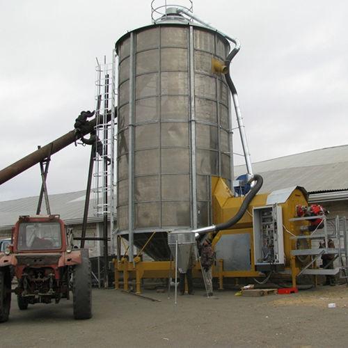 Mobilnaya zernosushilka MECMAR F 75/570F secador de grano