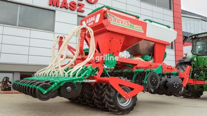 AGRO-MASZ Siewnik pneumatyczny do uprawy pasowej SLAVIS sembradora combinada nueva