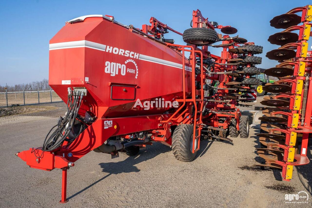 HORSCH  Focus 6 TD 6 meters, 580 hours, 1140 ha, with fan, seed drill w sembradora combinada