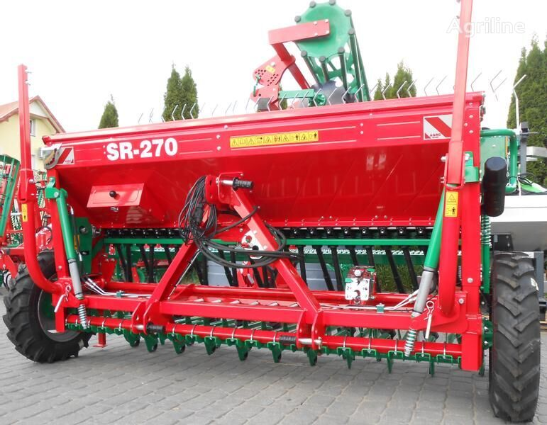 AGRO-MASZ Drillmaschine/ Seed drill/ Siewnik rzędowy SR-270 sembradora mecánica nueva