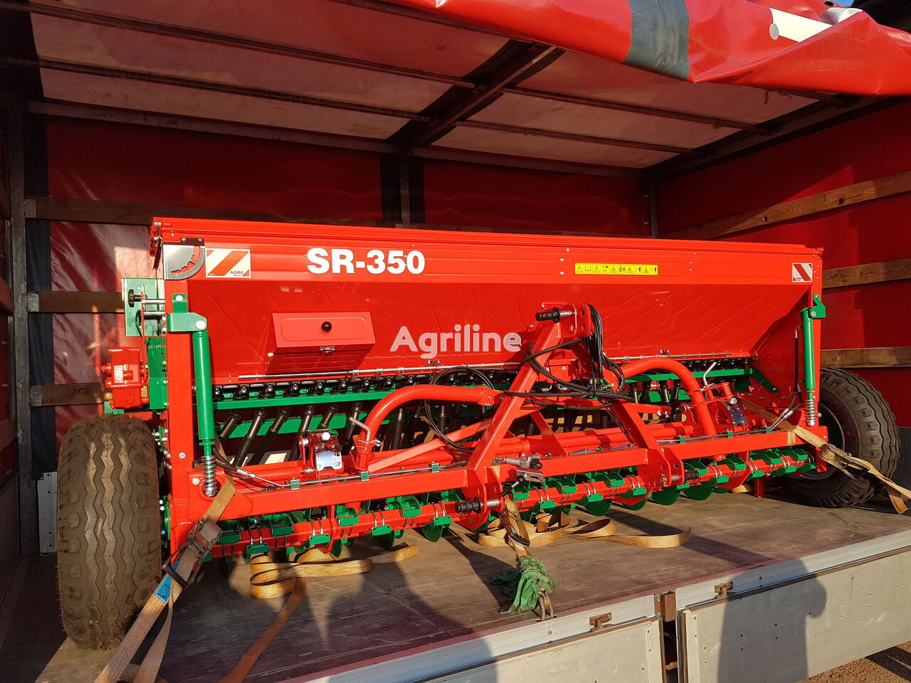 AGRO-MASZ Sivalka mehanichna nova SR350II GARANTIYa 1 RIK! sembradora mecánica nueva