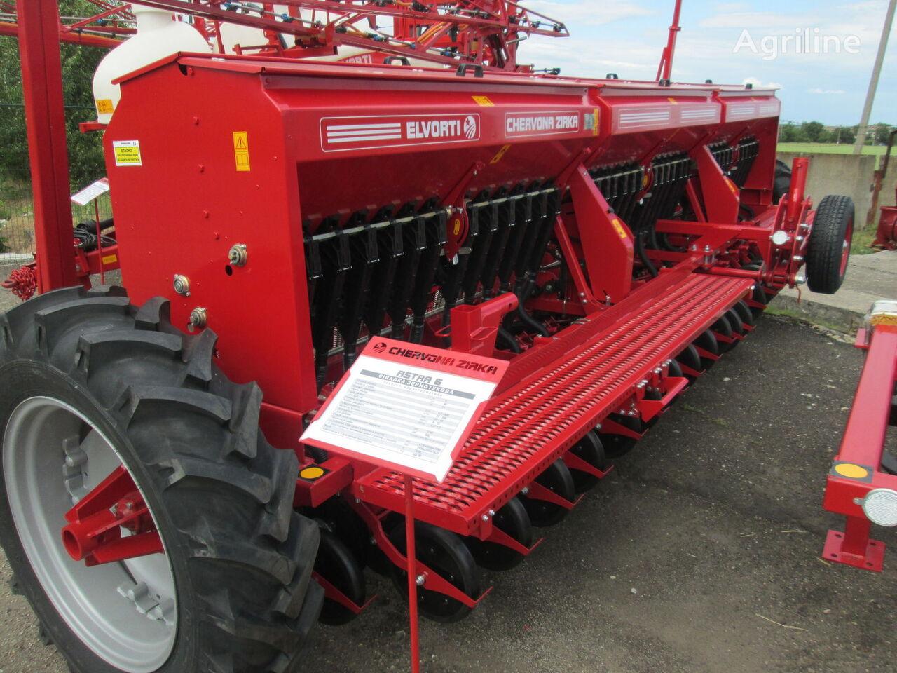ELVORTI (CHERVONA ZIRKA) SZ 3,6 / 4 / 5,4 / 6 (Astra Standart / Premium) sembradora mecánica nueva