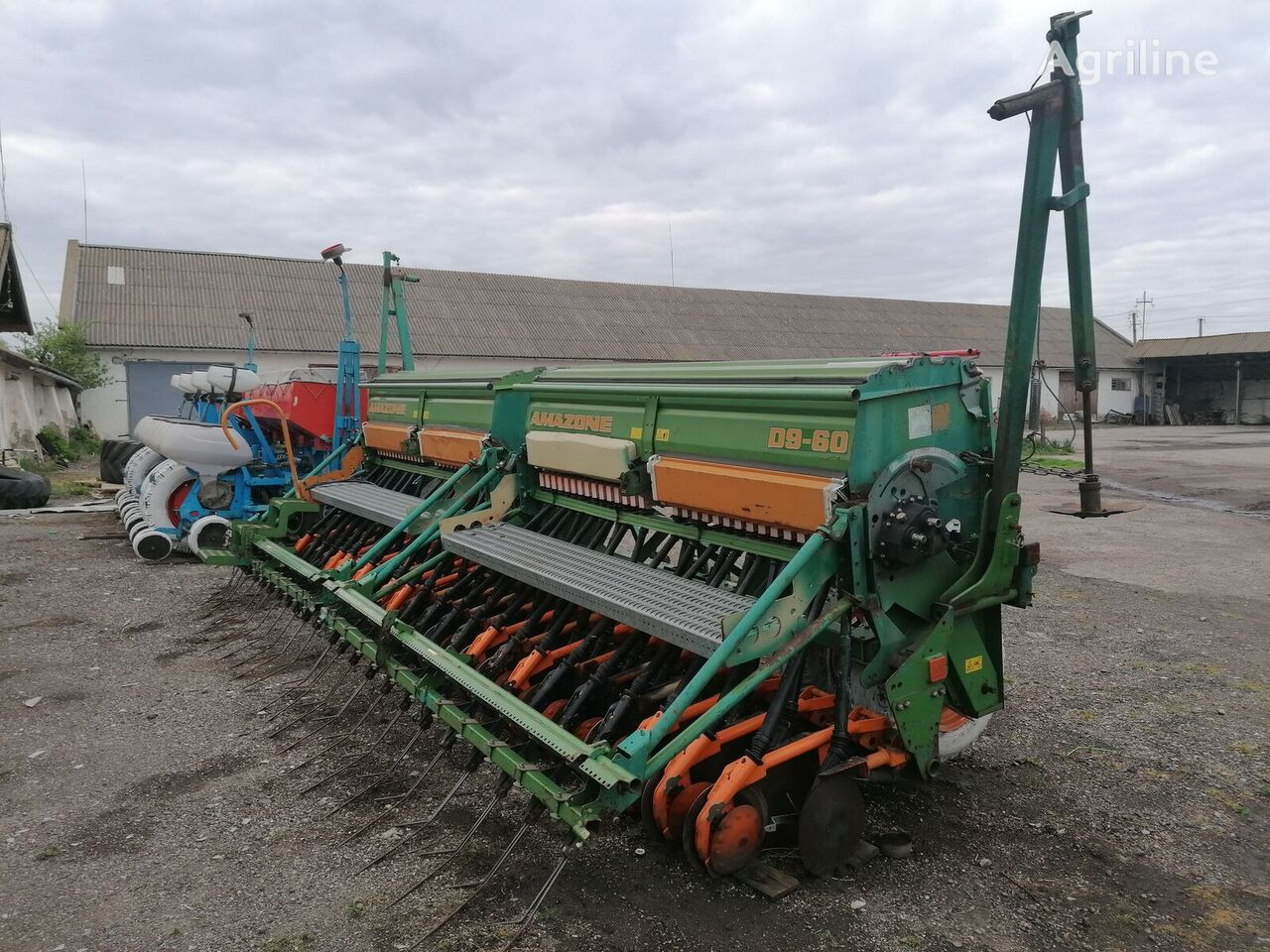 AMAZONE D9-60 sembradora neumática