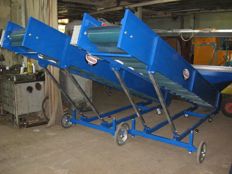 transporter (konveyer) - 4m  tolva de recepcíon nueva