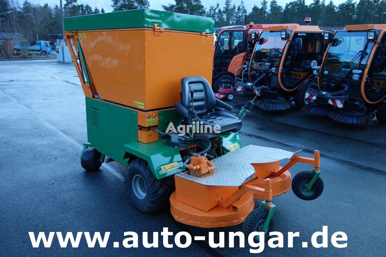 KUBOTA Werner - Absaugmäher ASM 125 Hochentleerung Zero-Turn tractor cortacésped
