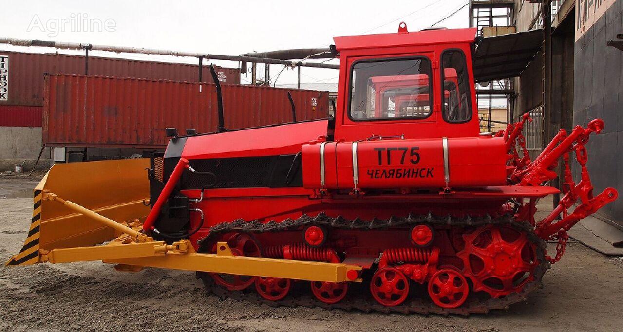 OOO «Stroitelnye dorozhnye i specialnye mashiny» TG-75 tractor de cadenas
