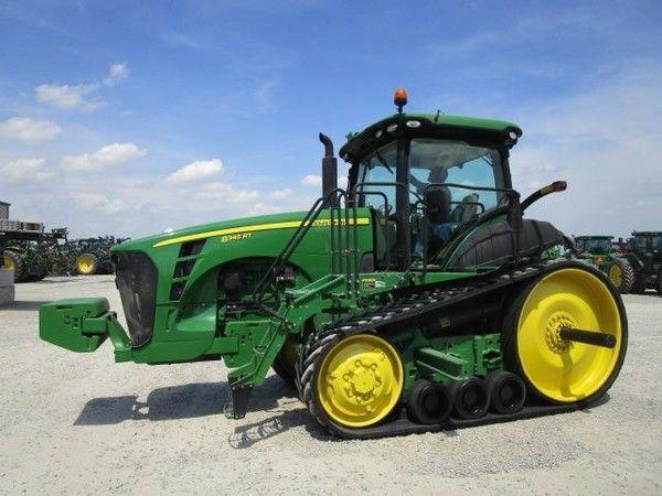 JOHN DEERE 8345RT tractor de orugas