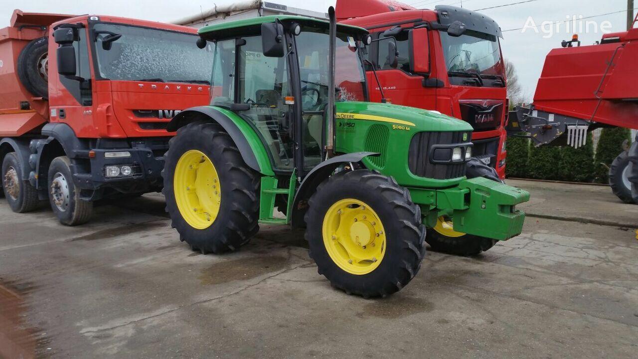 JOHN DEERE 5080 M tractor de ruedas