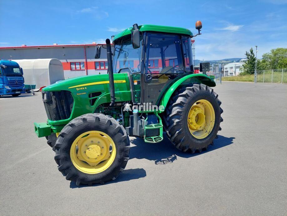 JOHN DEERE 5083E tractor de ruedas