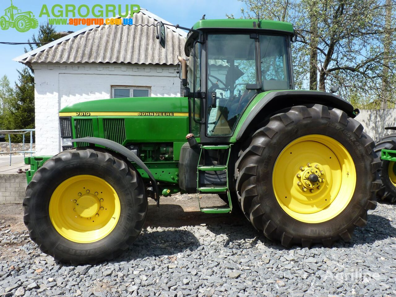 JOHN DEERE 7810 tractor de ruedas