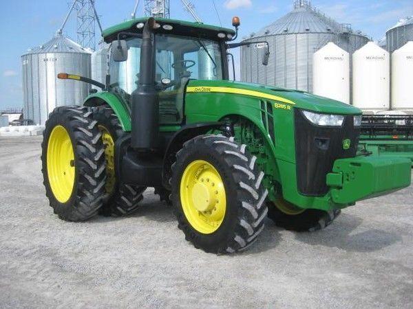 JOHN DEERE 8285R tractor de ruedas