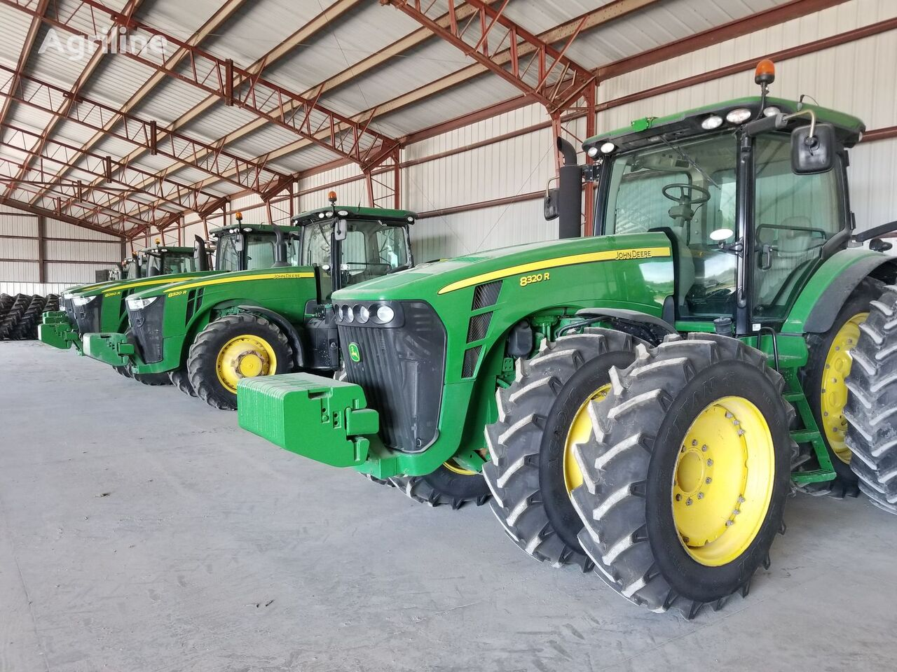 JOHN DEERE 8320R tractor de ruedas