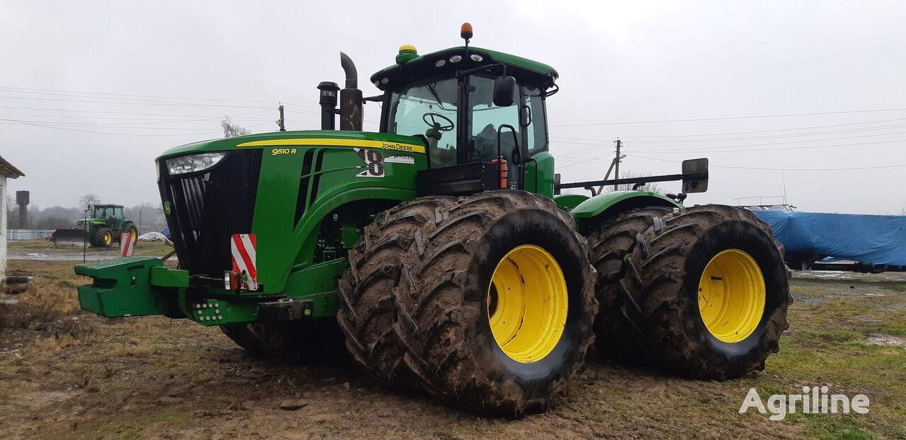 JOHN DEERE 9510 R tractor de ruedas
