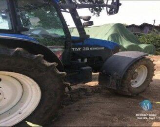 NEW HOLLAND TM 135 tractor de ruedas