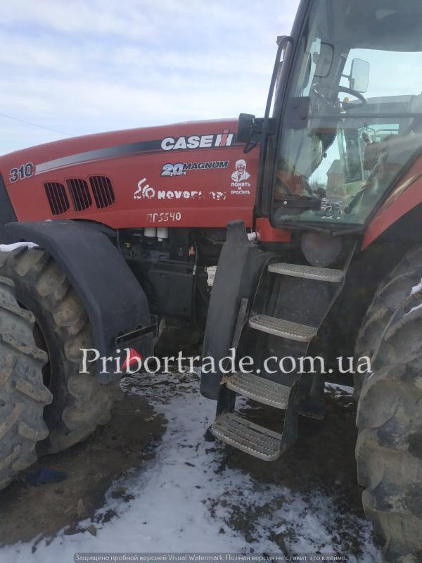 CASE IH MX-310 tractor de ruedas