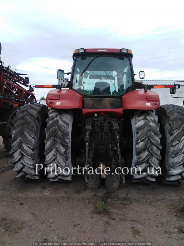 CASE IH MAGNUM MX 310 №387 tractor de ruedas
