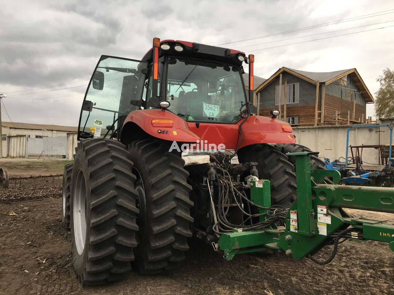 CASE IH Magnum 340 2016 goda tractor de ruedas