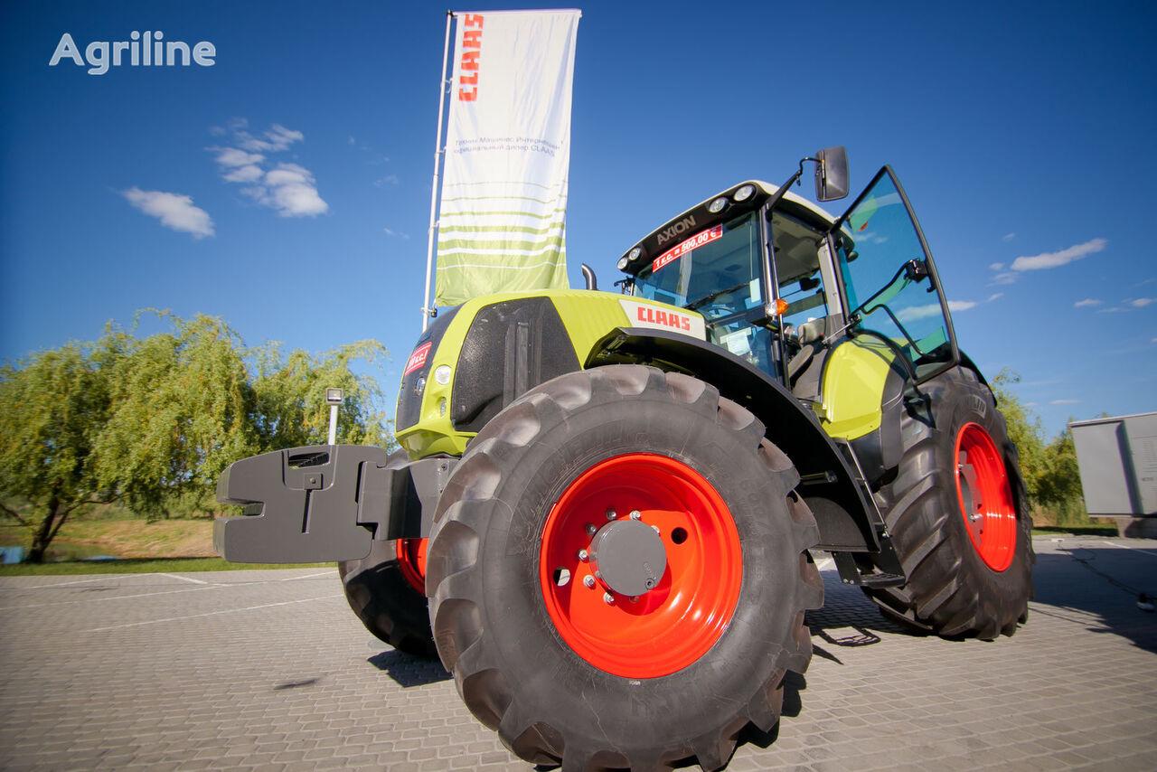 CLAAS AXION 820 tractor de ruedas nuevo