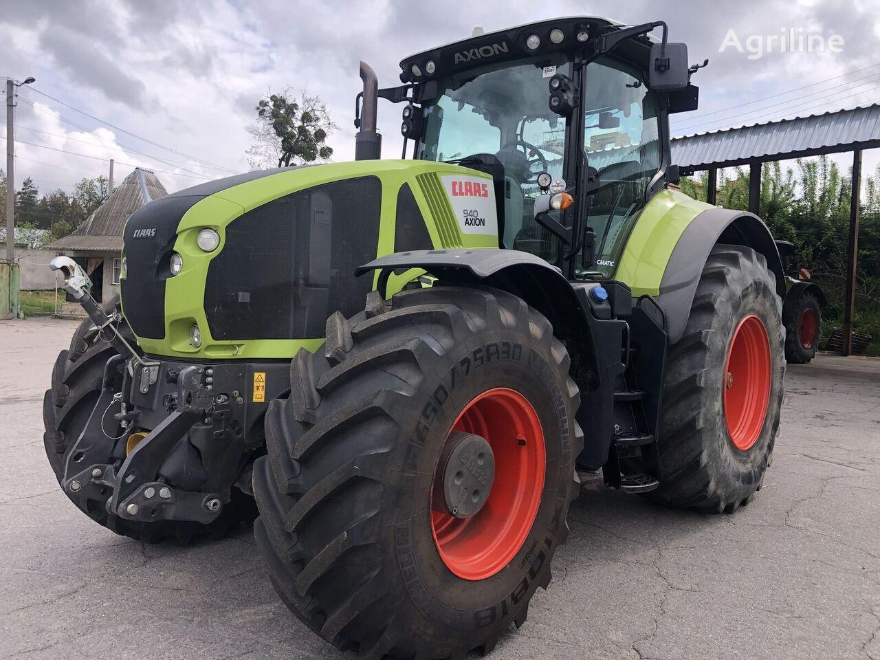 CLAAS Axion 940 Cmatic tractor de ruedas