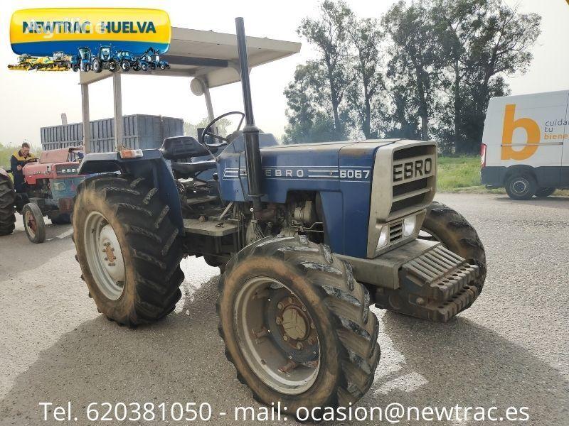 EBRO  6067 tractor de ruedas