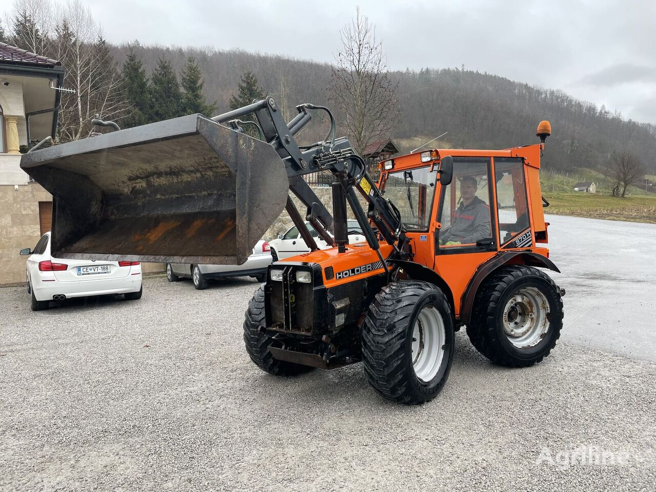 HOLDER C870 H  tractor de ruedas