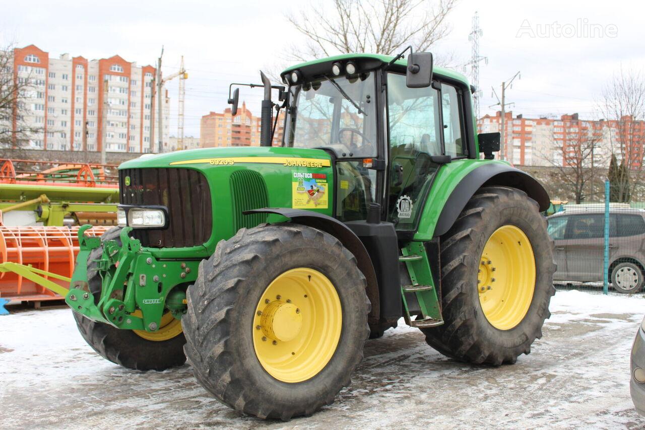 JOHN DEERE 6920S tractor de ruedas