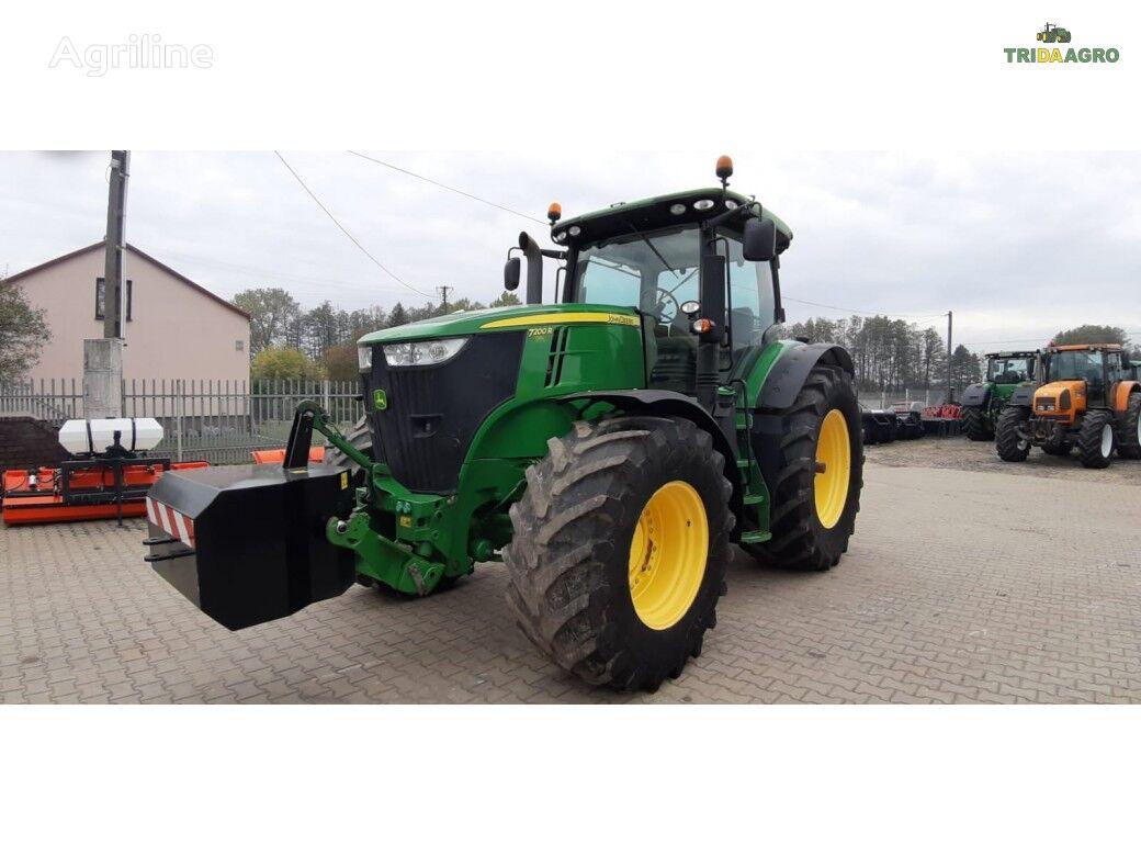 JOHN DEERE 7200 R tractor de ruedas