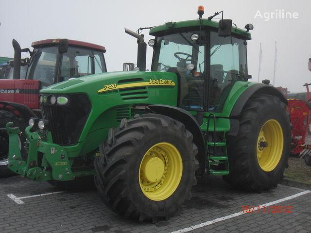 JOHN DEERE 7820 tractor de ruedas