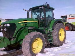 JOHN DEERE 7830 tractor de ruedas
