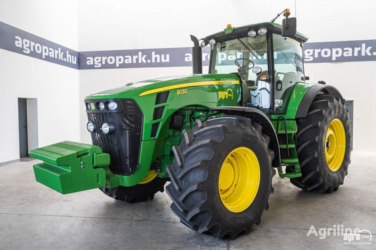JOHN DEERE 8130 (5242 hours) 16/5 Powershift 40 km/h, fixed axle, AutoTrac  tractor de ruedas