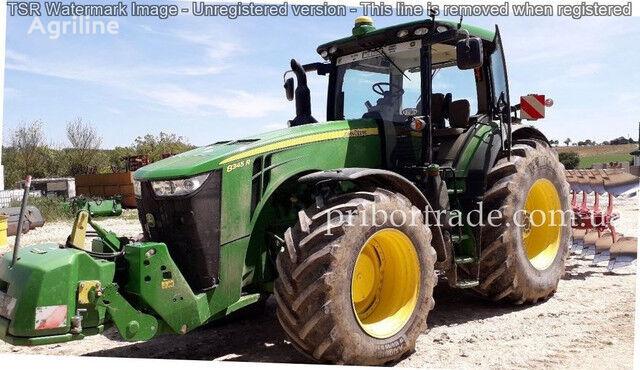 JOHN DEERE 8345R №74 tractor de ruedas