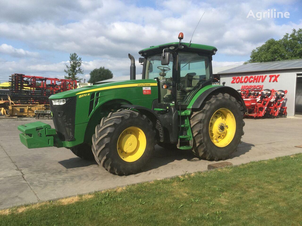 JOHN DEERE 8370 R (370PS-koni)LED,sama povna komplektaciya tractor de ruedas