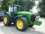 JOHN DEERE 8520 tractor de ruedas