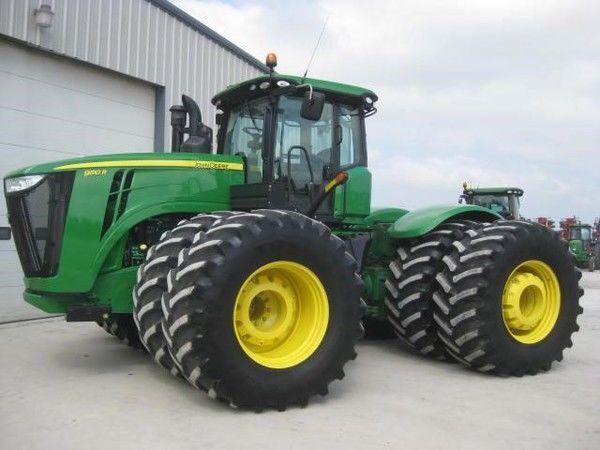 JOHN DEERE 9510R tractor de ruedas