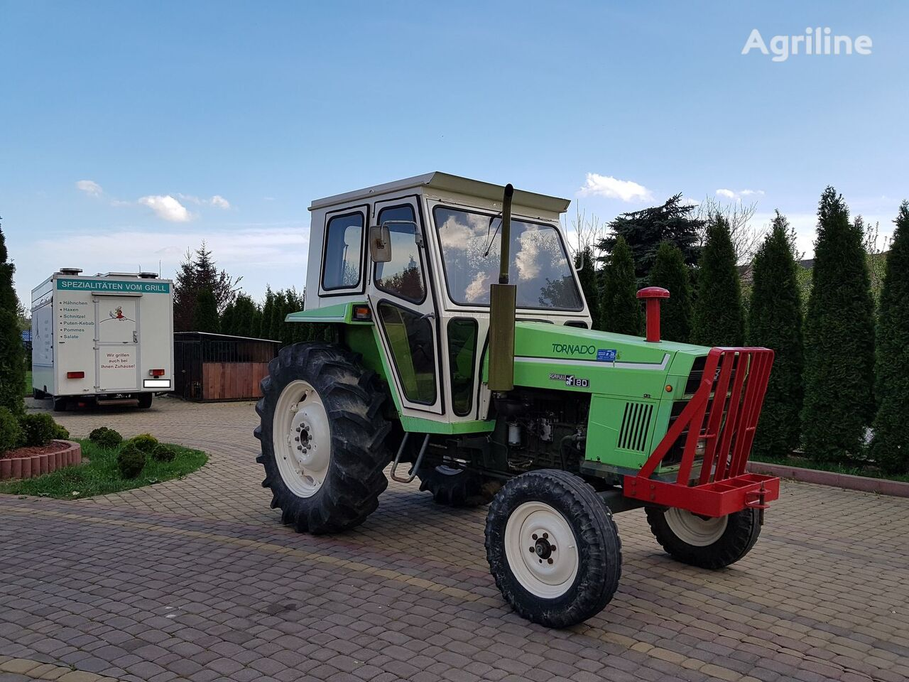 LAMBORGHINI Tornado tractor de ruedas