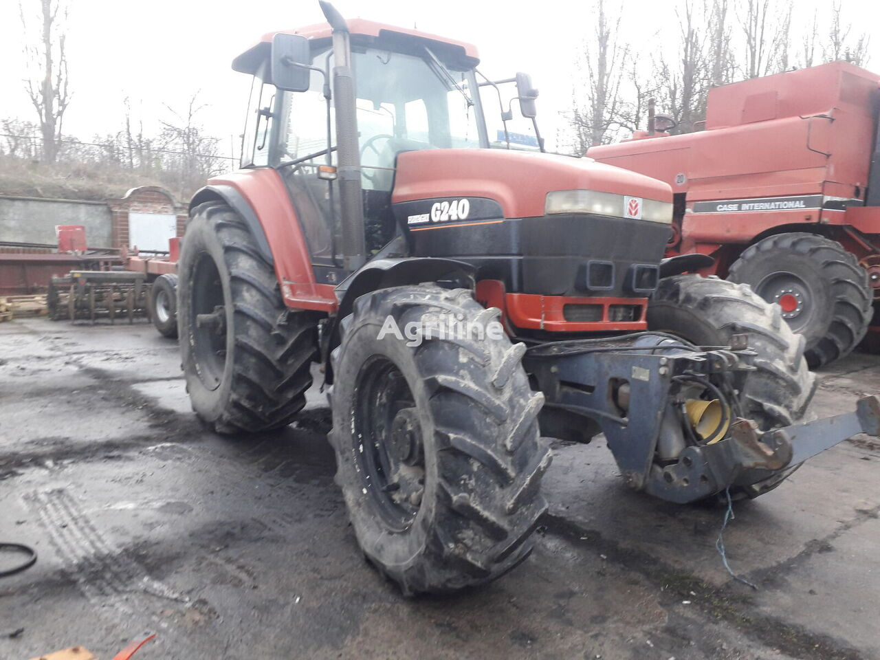 NEW HOLLAND Ford G240 tractor de ruedas para piezas