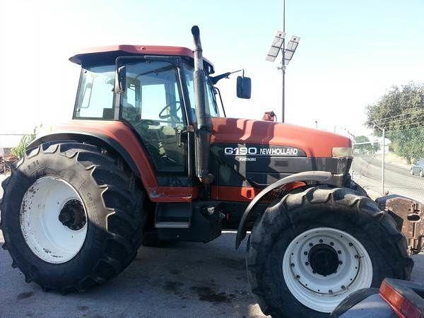 NEW HOLLAND G190 para peças tractor de ruedas para piezas